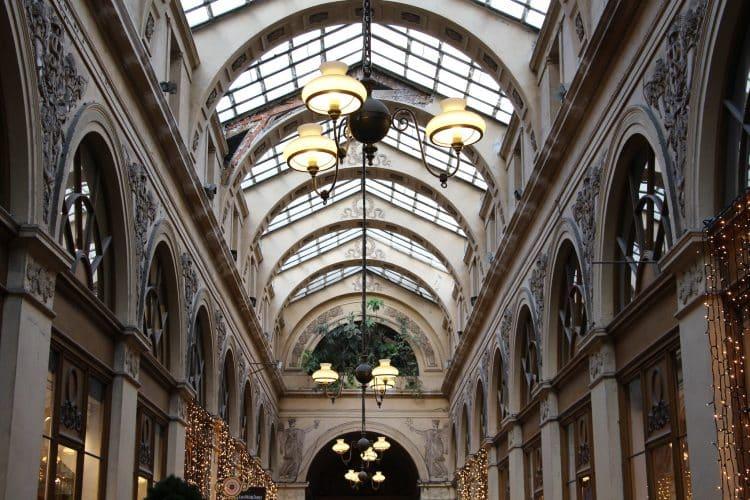 balade paris visite passages couverts galerie vivienne