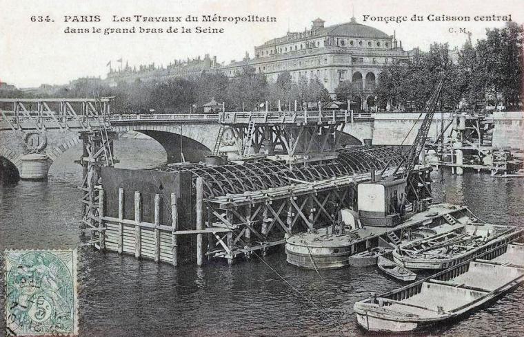 travaux metro Paris